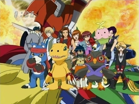 Digimon data squad characters names