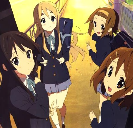 K On Characters The most popular anime series of the spring 2009 season comes to an ...