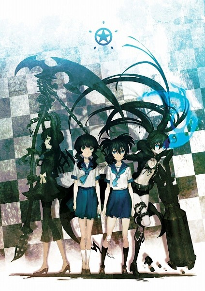 black rock shooter. Black Rock Shooter anime.
