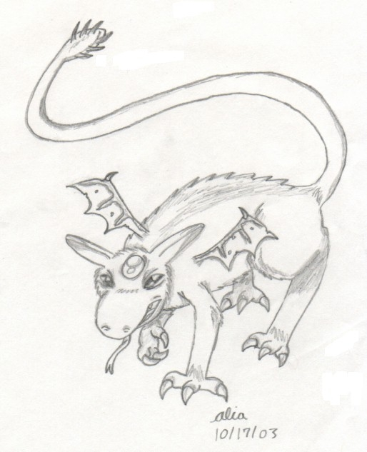 Fantasy Creature Drawings Fantasy Creature Drawings
