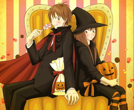 on Happy Halloween From May   Plus Some Anime Halloween Images