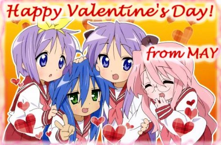 Happy Valentine S Day From Mainichi Anime Yume 毎日アニメ夢