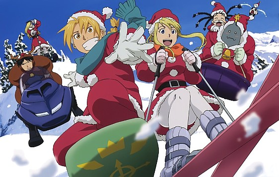 Anime Merry Christmas.毎日アニメ夢 Merry Christmas From Mainichi Anime Yume