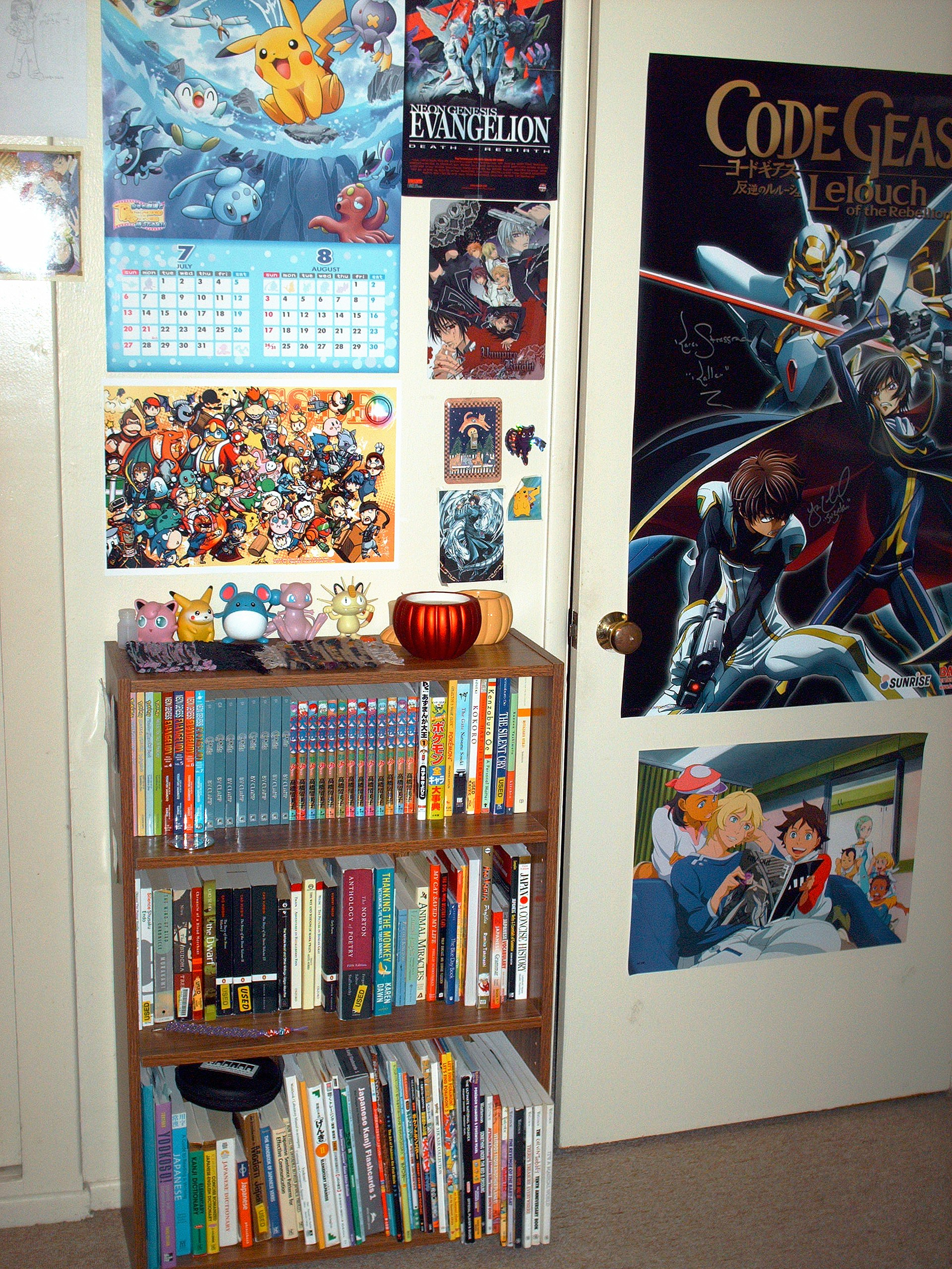 Welcome To My Anime Covered Room