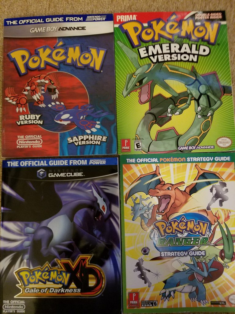 Pokemon Emerald Guide Book